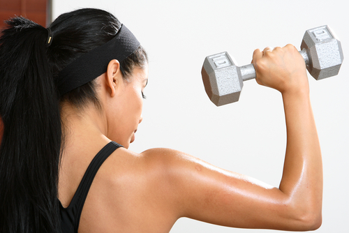 How to get toned shoulders
