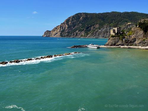 Playa de Monterosso al Mare, en Cinque Terre
