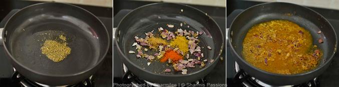 How to make soya kheema paratha - Step3