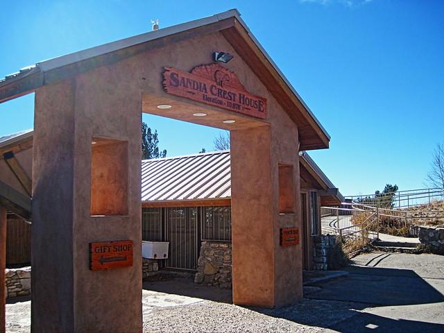 Sandia Crest House entry 20131104