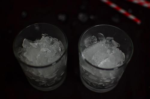 Ice ready for sugarcane juice