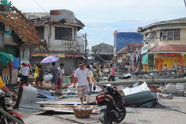 ECHO on the ground after Haiyan