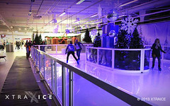 Xtraice artificial ice rink in Copenhaguen, Denmark.