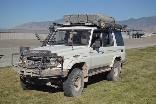 Land Cruiser built for Overland