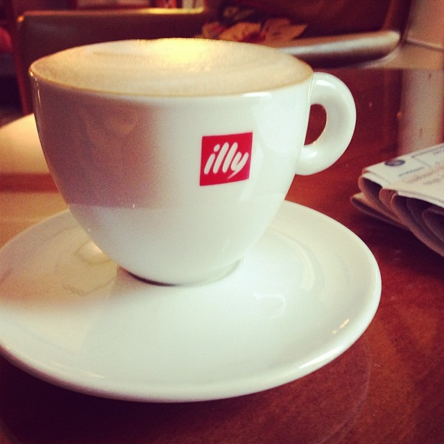 Illy cappuccino for #coffeeneuring 6