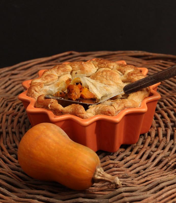Squash Puff Pastry Pie