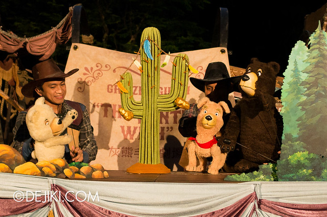 HKDL Puppets in the Park - The Winter Wish