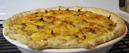 caramelized onion, apple and bacon tart – Chickens and Eggs