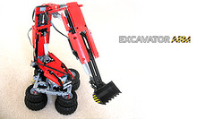 RC Excavator Arm