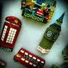 London Tat #London #tat #instabest #instagramers #English #England #Britain #fridge #magnet