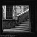 stairs in square by D J England