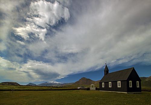 travel church iceland glacier búðir búðakirkja budir img9593 staðarsveit canonef1635mmf28liiusm canoneos5dmarkii snæfellsjökullnationalpark snaefellsnesnationalpark budirchurch hraunhafnará sigmundurandresson hraunhöfn