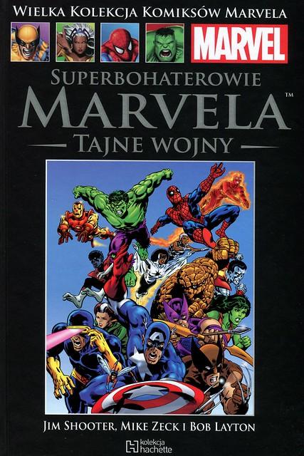 WKKM26 Superbohaterowie Marvela Tajne Wojny Tom1