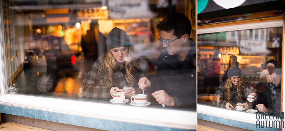 Kensington Market Cafe Toronto Engagement Session 0016