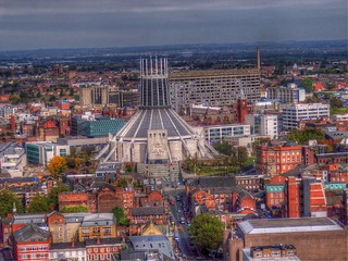 view from Anglican cathedral tower