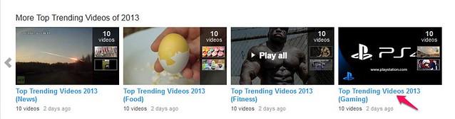 More Top Trending Videos of 2013