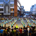 Dinagyang Festival 2014 Tribes perform at Pamukaw Parade in Iloilo City