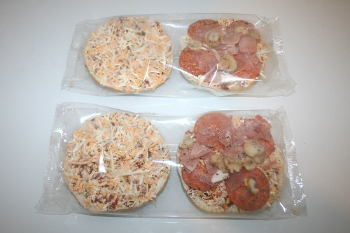 03 - Dr. Oetker Pizzabburger Speciale - Burger in Folie / Burger in foil