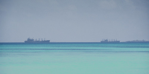 military ships lagoon diegogarcia base atoll biot britishindianoceanterritory