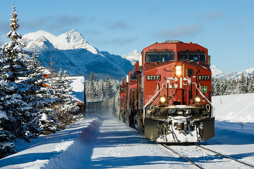 CP 8777 East @ Lake Louise