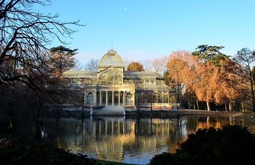 Palacio de Cristal. El Retiro.