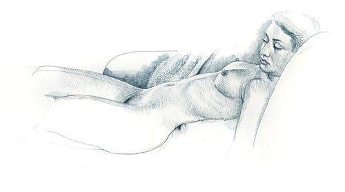 Sedona, life drawing