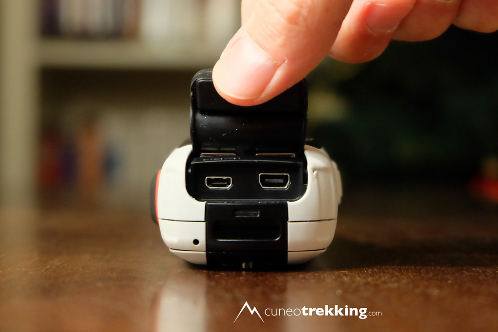 Obiettivo della fotocamera cappuccio nascosto per GoPro Hero 3 III Silver Edition