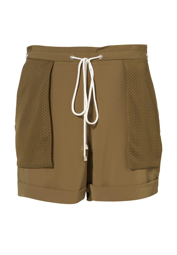 Topshop Airtex Pocket Shorts