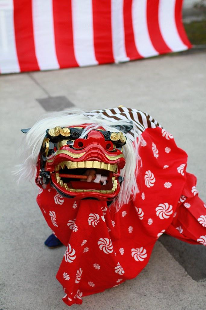 獅子舞in護国神社