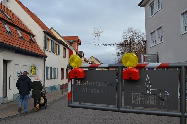 Weihnachtsmarkt Freinsheim historic old town
