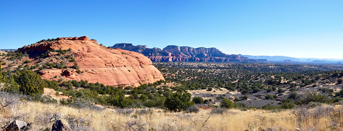 Robbers Roost Panorama by Coconino National Forest