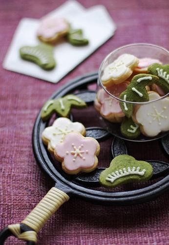 Matsu Ta-ke Ume Cookies
