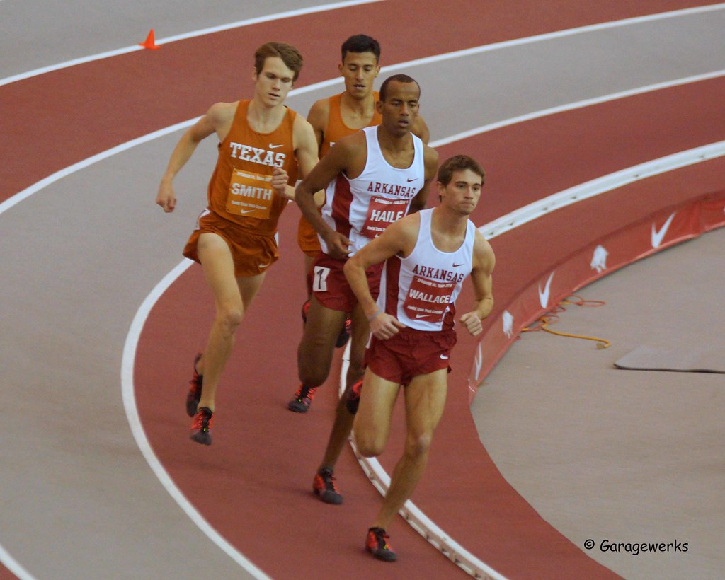 University of Arkansas Razorbacks versus University of Texas Track and Field