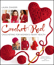 Crochet Red Book Cover