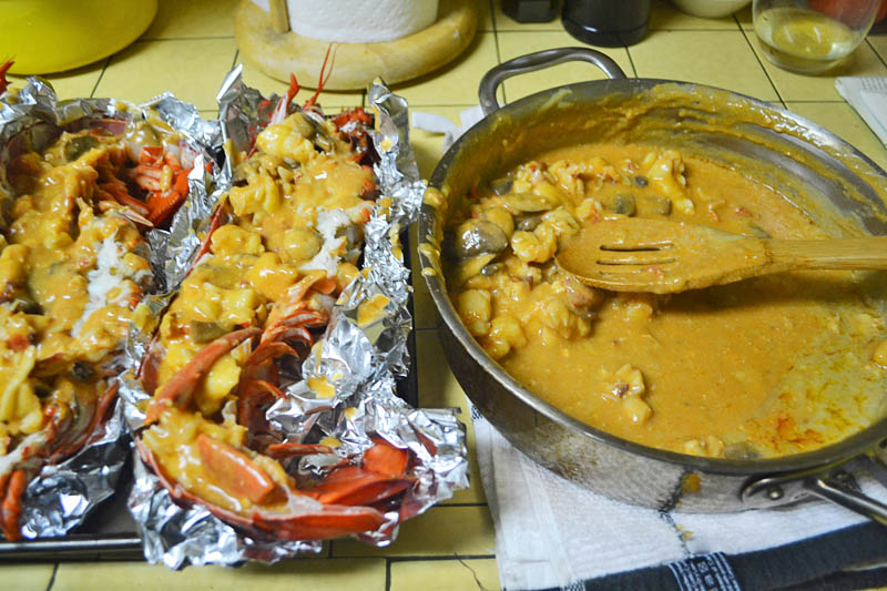 Julia Child's Lobster Thermidor via LittleFerraroKitchen.com