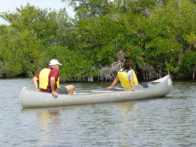 Touring big cypress by canoe oh the places they go for The big canoe