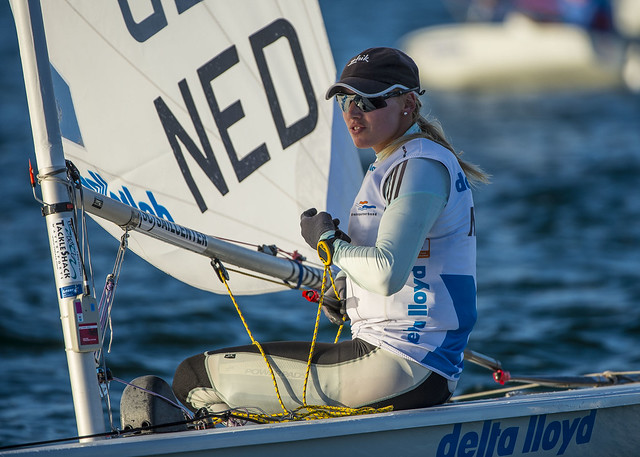 Marit Bouwmeester (NED) - 2014 ISAF Sailing World Cup Miami
