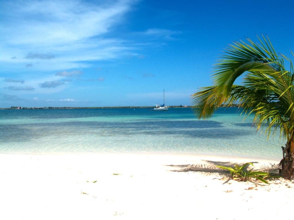2. Playa en las islas de la Bahía. Autor, René Mayorga