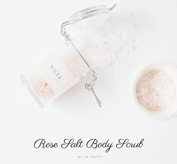 DIY To Try: Rose Salt Body Scrub