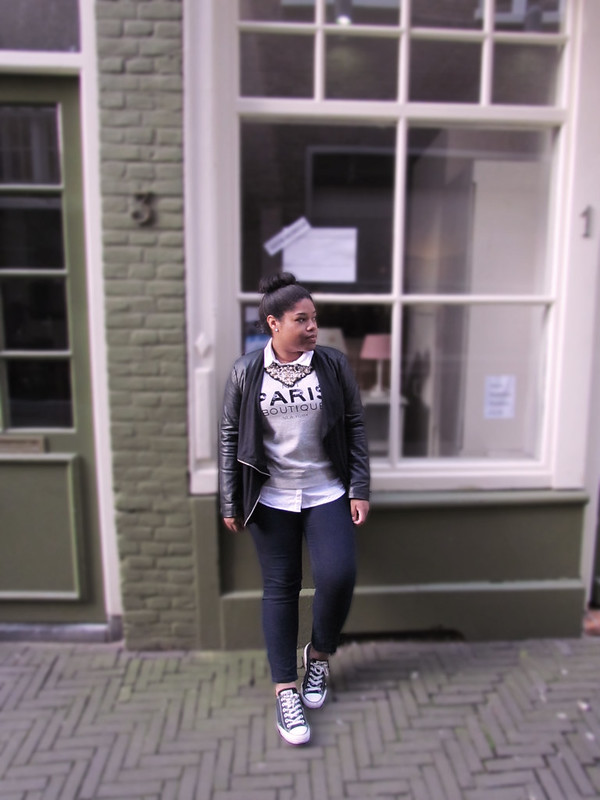 new look, ootd, primark, mango, converse, style, blogger, how to, zara, statement necklace, fashion