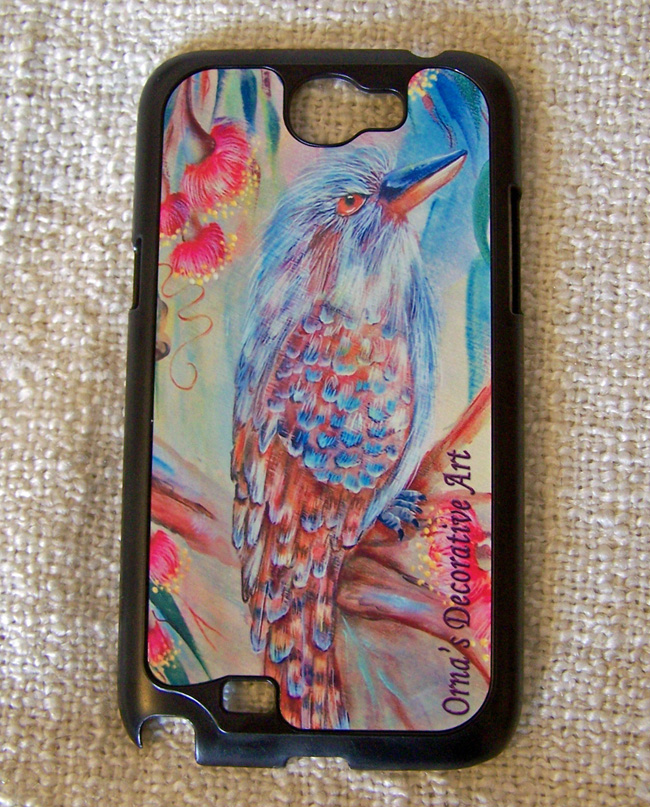 Kookaburra phone case by Orna Shachar