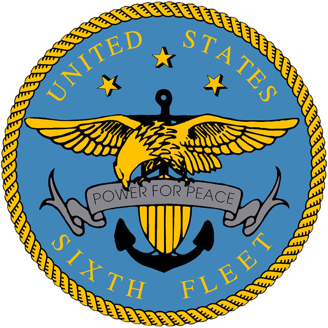 US Sixth Fleet Logo
