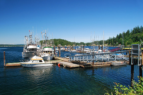 Quathiaski Cove, Quadra Island, Discovery Islands, British Columbia, Canada