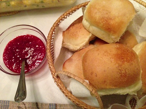love buns and Terry's jam