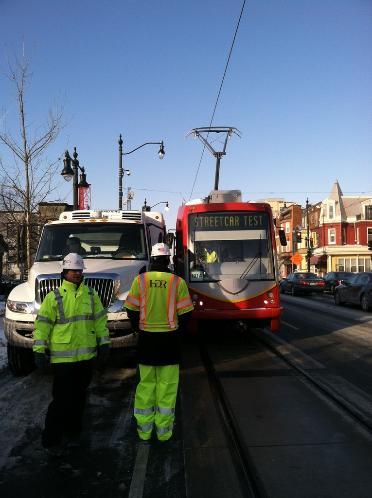Functional testing taking place on H/Benning. Mayor Vincent Gray went along for a ride.