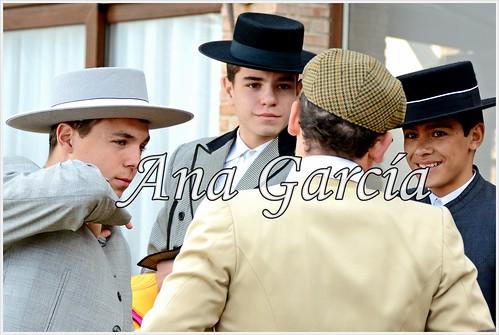 Alejandro, Ángel, Francisco y Pablo