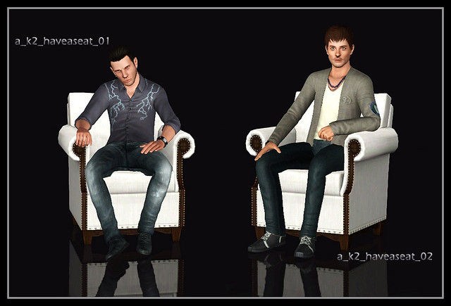 Have A Seat - Poses 01 & 02