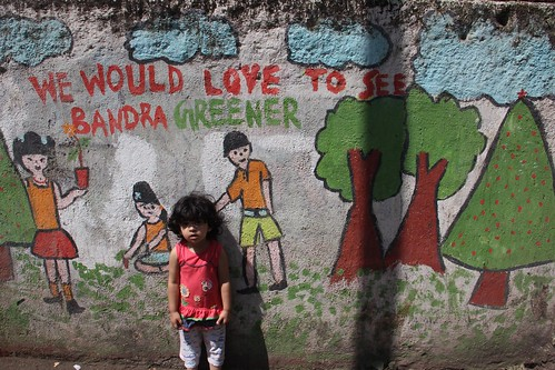Nerjis Wants You To Plant More Trees In Bandra by firoze shakir photographerno1