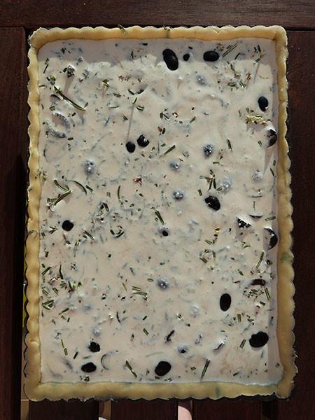 tarte aux olives 2