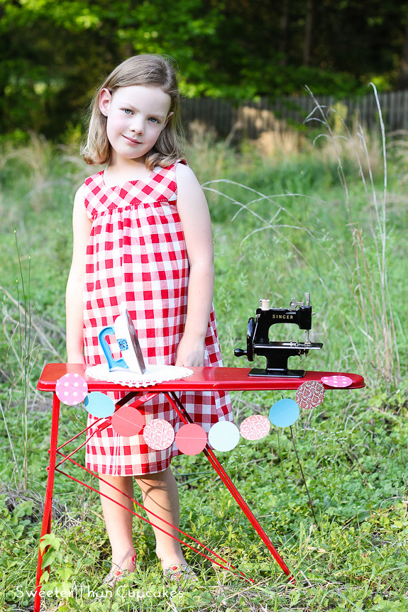 Happy Homemade Square Neck Dress